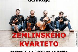 7. 12. 2019 Adventní koncert – Zemlinského kvarteto